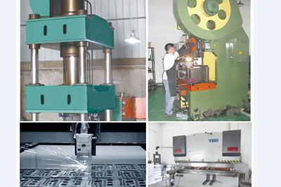 Stampings & Plate machine
