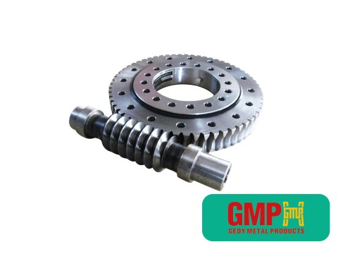 cacing gears CNC mesin