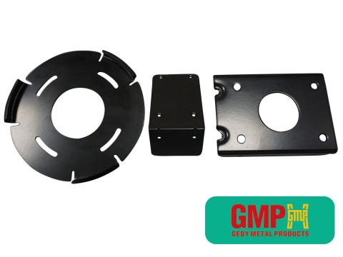 stamping parts powder coated surface